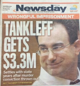 Martin Tankleff  Article Newspaper Cover